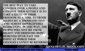 How the Western World is Following Hitler's Exact Advice